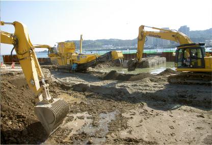 土壌汚染対策工事の概要3