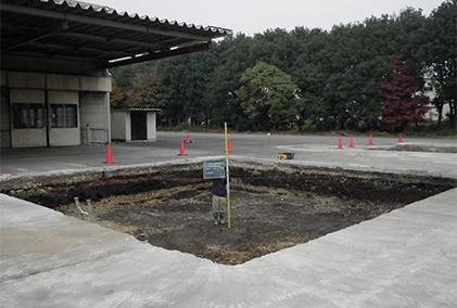 土壌汚染対策工事の概要4
