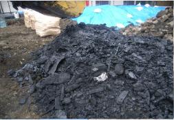土地取引に伴う地中埋設物撤去工事1